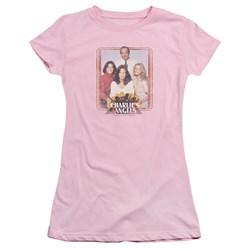 Charlies Angels - Juniors Iron On Angels T-Shirt