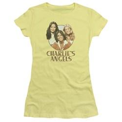 Charlies Angels - Juniors Retro Girls T-Shirt
