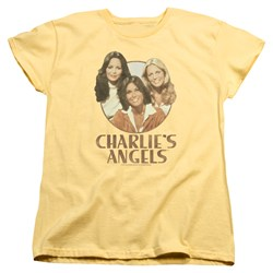 Charlies Angels - Womens Retro Girls T-Shirt