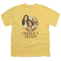 Charlies Angels - Youth Retro Girls T-Shirt