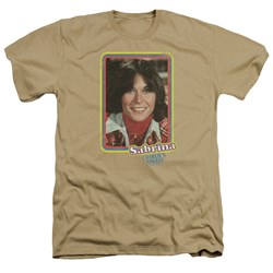 Charlies Angels - Mens Sabrina Portrait Heather T-Shirt