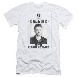 Married With Children - Mens Virgin Hotline Premium Slim Fit T-Shirt