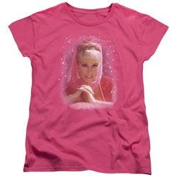 I Dream Of Jeannie - Womens Sparkle T-Shirt