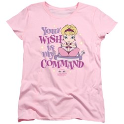 I Dream Of Jeannie - Womens Your Wish Is My Command T-Shirt