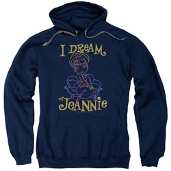 I Dream Of Jeannie - Mens Jeannie Paint Pullover Hoodie
