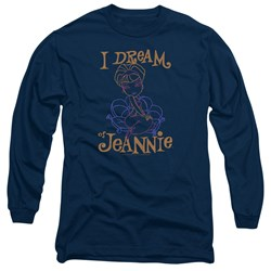 I Dream Of Jeannie - Mens Jeannie Paint Long Sleeve T-Shirt