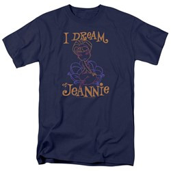 I Dream Of Jeannie - Mens Jeannie Paint T-Shirt