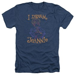I Dream Of Jeannie - Mens Jeannie Paint Heather T-Shirt