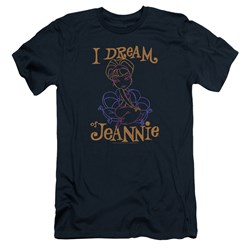 I Dream Of Jeannie - Mens Jeannie Paint Slim Fit T-Shirt