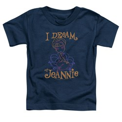 I Dream Of Jeannie - Toddlers Jeannie Paint T-Shirt