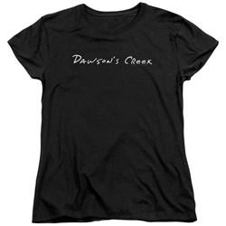 Dawsons Creek - Womens Dawsons Logo T-Shirt
