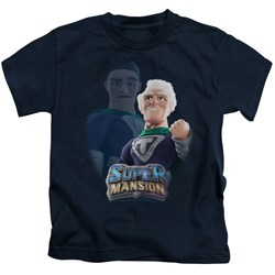 Super Mansion - Youth Titanium Rex T-Shirt