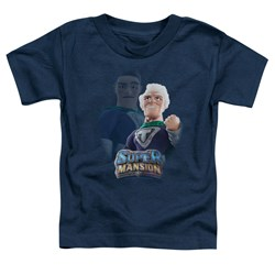 Super Mansion - Toddlers Titanium Rex T-Shirt