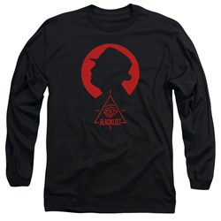 Blacklist - Mens Silhouette Long Sleeve T-Shirt