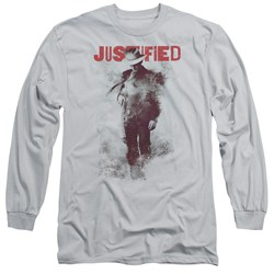 Justified - Mens Ink Washed Long Sleeve T-Shirt