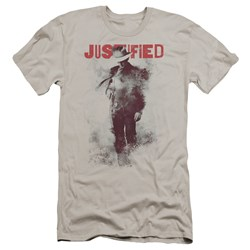 Justified - Mens Ink Washed Premium Slim Fit T-Shirt