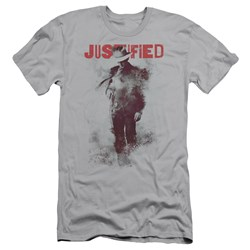 Justified - Mens Ink Washed Slim Fit T-Shirt