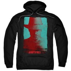 Justified - Mens Silhouette Pullover Hoodie
