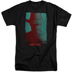 Justified - Mens Silhouette Tall T-Shirt