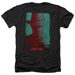Justified - Mens Silhouette Heather T-Shirt