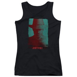 Justified - Juniors Silhouette Tank Top