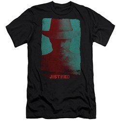 Justified - Mens Silhouette Premium Slim Fit T-Shirt