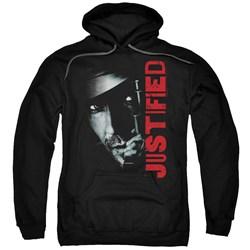 Justified - Mens Gun Pullover Hoodie