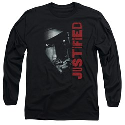 Justified - Mens Gun Long Sleeve T-Shirt