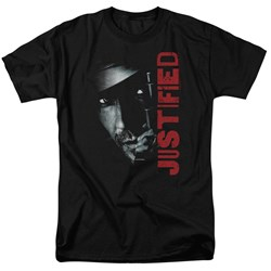 Justified - Mens Gun T-Shirt