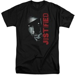 Justified - Mens Gun Tall T-Shirt