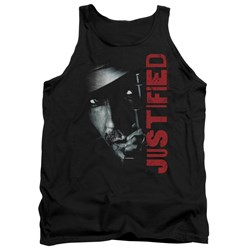 Justified - Mens Gun Tank Top