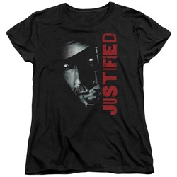 Justified - Womens Gun T-Shirt