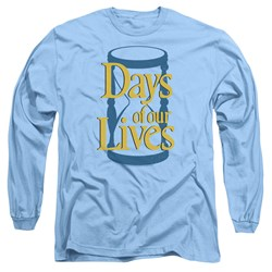 Days Of Our Lives - Mens Hourglass Long Sleeve T-Shirt