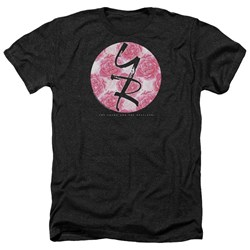 Young And The Restless - Mens Young Roses Heather T-Shirt