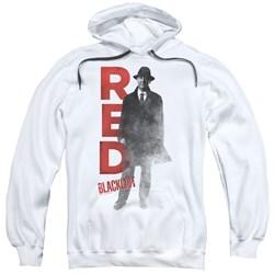 Blacklist - Mens Red Pullover Hoodie