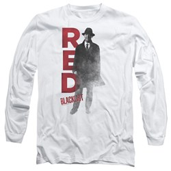 Blacklist - Mens Red Long Sleeve T-Shirt