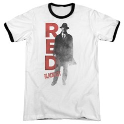 Blacklist - Mens Red Ringer T-Shirt