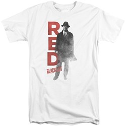 Blacklist - Mens Red Tall T-Shirt