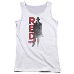 Blacklist - Juniors Red Tank Top