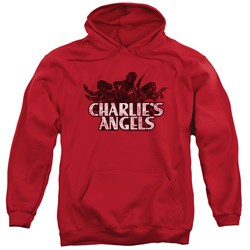 Charlies Angels - Mens Charlies Angels Vintage Logo Pullover Hoodie