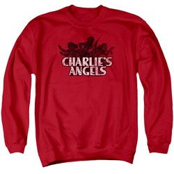 Charlies Angels - Mens Charlies Angels Vintage Logo Sweater