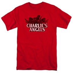 Charlies Angels - Mens Charlies Angels Vintage Logo T-Shirt