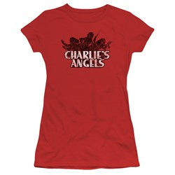 Charlies Angels - Juniors Charlies Angels Vintage Logo T-Shirt