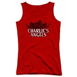 Charlies Angels - Juniors Charlies Angels Vintage Logo Tank Top