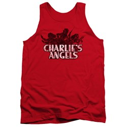 Charlies Angels - Mens Charlies Angels Vintage Logo Tank Top