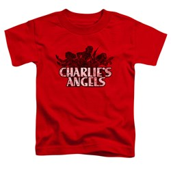 Charlies Angels - Toddlers Charlies Angels Vintage Logo T-Shirt