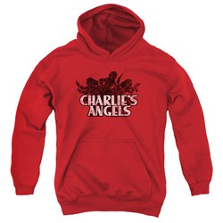 Charlies Angels - Youth Charlies Angels Vintage Logo Pullover Hoodie