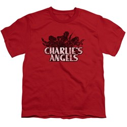 Charlies Angels - Youth Charlies Angels Vintage Logo T-Shirt
