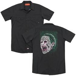 Suicide Squad - Mens Prince Portrait (Back Print) Work Shirt