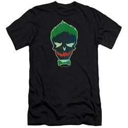 Suicide Squad - Mens Joker Skull Premium Slim Fit T-Shirt